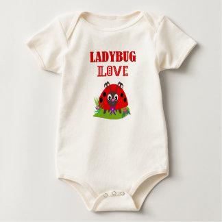 LADYBUG LOVE BABY BODYSUIT