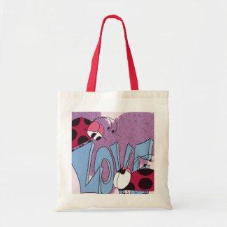 Ladybug Love~ Budget Tote Bag