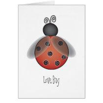 Ladybug, Love Bug Card