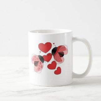 Ladybug Love Classic White Coffee Mug