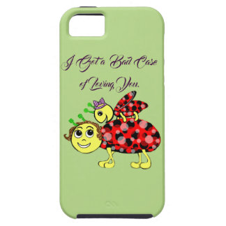 Ladybug Love Customize or add Text iPhone SE/5/5s Case