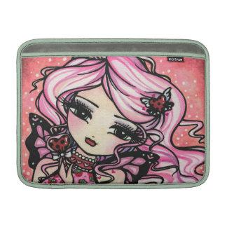 Ladybug Love Fairy Art MacBook Sleeve
