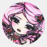 Ladybug Love Fairy Valentine Stickers
