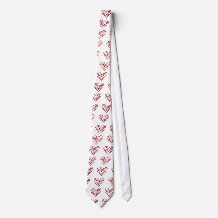 Ladybug Love Heart Neck Tie