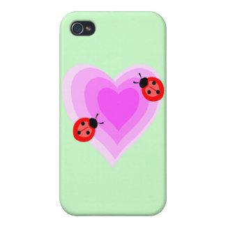 Ladybug Love iPhone 4/4S Cases