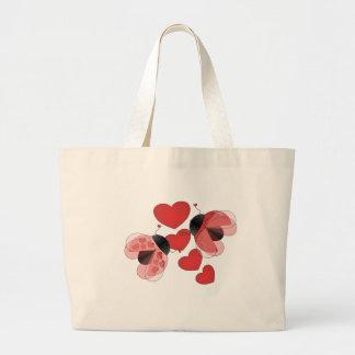 Ladybug Love Jumbo Tote Bag