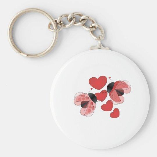 Ladybug Love Keychain