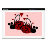 Ladybug Love Laptop Decal