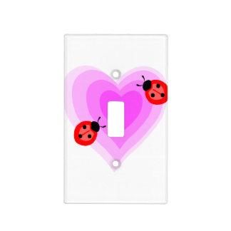 Ladybug Love Light Switch Cover