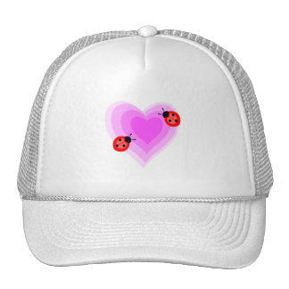 Ladybug Love Mesh Hats