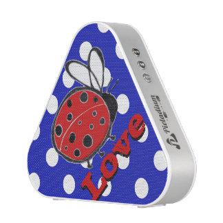 Ladybug Love Pieladium Speaker