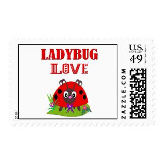 LADYBUG LOVE POSTAGE STAMP