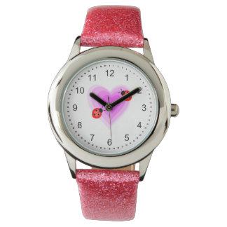 Ladybug Love Wrist Watch