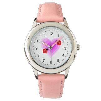 Ladybug Love Wristwatches