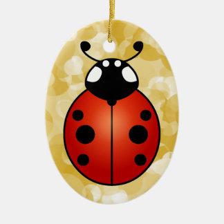 Ladybug Lucky Ladybird Beetle Good Luck Ornament