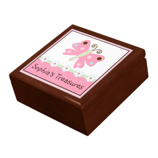 Ladybug Lullaby/Butterfly Keepsake Box