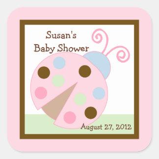 Ladybug Lullabye/Snail Stickers/Envelope Seals