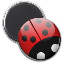 Ladybug Magnet