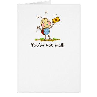 Ladybug Mail Card