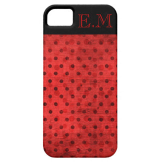 Ladybug Monogram iPhone 5 Case