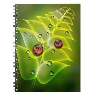 Ladybug Morning Notebook