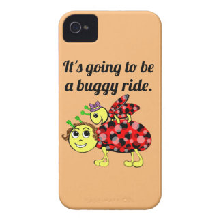 Ladybug Movie Buff and Bare(ly there) iPhone 4 Case