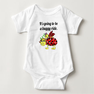 Ladybug Movie Buff Baby Bodysuit