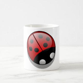 Ladybug Classic White Coffee Mug