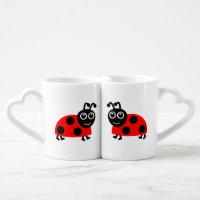 Ladybug Mug Set