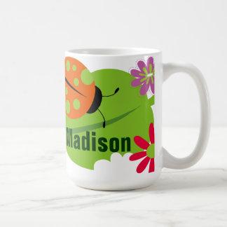 Ladybug mug with poem by dixie bahma (personalized