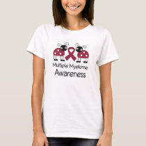 Ladybug Multiple Myeloma Awareness T-Shirt