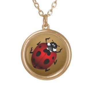 Ladybug Necklace Ladybug Art Jewelry Ladybird Gift