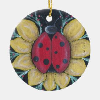 Ladybug Nest Ornament