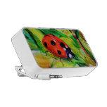 Ladybug Notebook Speaker