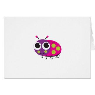 Ladybug Notecard Stationery Note Card