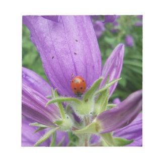 Ladybug Memo Note Pad