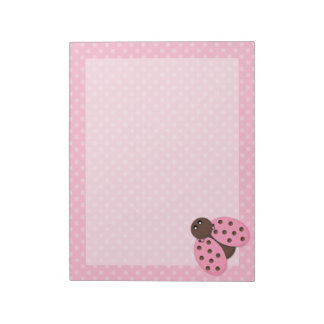 Ladybug Notepad