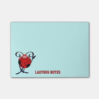 Ladybug notes post-it® notes
