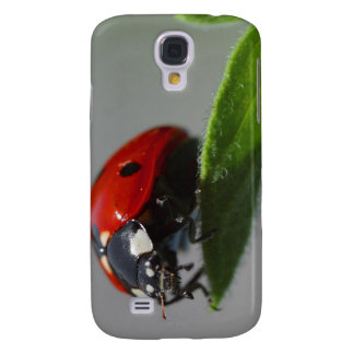Ladybug on Leaf Galaxy S4 Cover