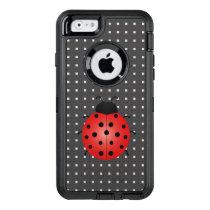 Ladybug On Square Pattern iPhone 6/6s Case
