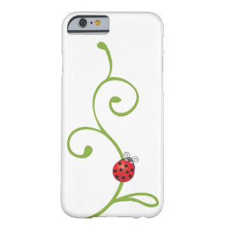 Ladybug on Vine Barely There iPhone 6 Case