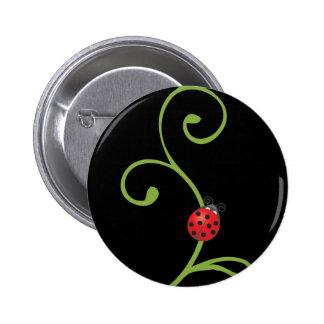 Ladybug on Vine Pins