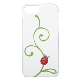 Ladybug on Vine iPhone 7 Case