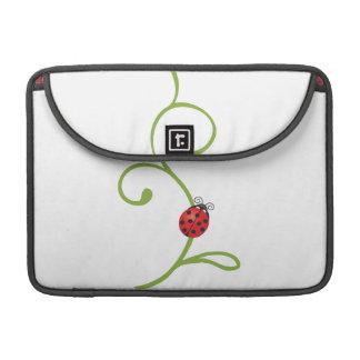 Ladybug on Vine Sleeves For MacBook Pro