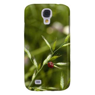 Ladybug on Wild grass Galaxy S4 Cover