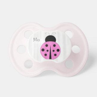 ladybug pacifer BooginHead pacifier