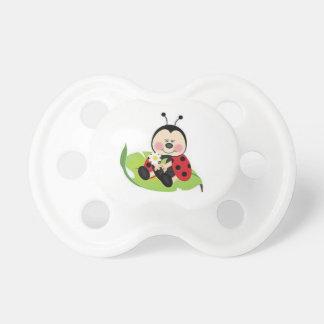 Ladybug BooginHead Pacifier