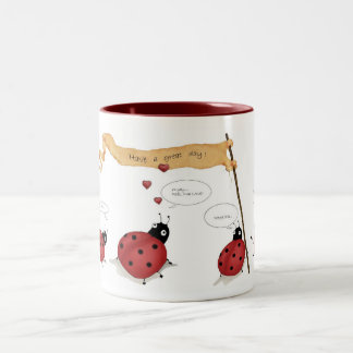 Ladybug Parade Mug