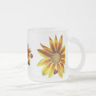 Ladybug Party 10 Oz Frosted Glass Coffee Mug