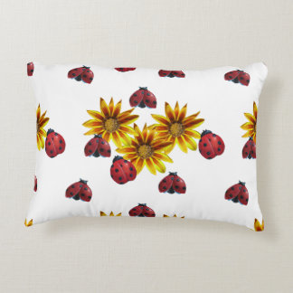 Ladybug Party Accent Pillow